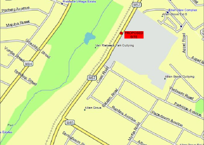 Road Reserve Billboard Site_Locality plan