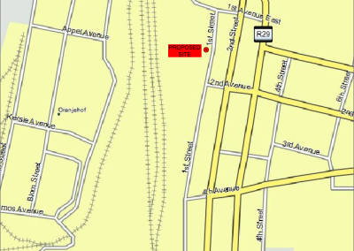 Taxi Rank Billboard Site_Locality Plan