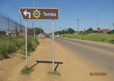 Tourism signage
